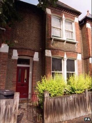 A squatter's house in London