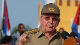 Raul Castro - file photo