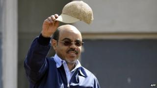 Meles Zenawi, 2010 file pic