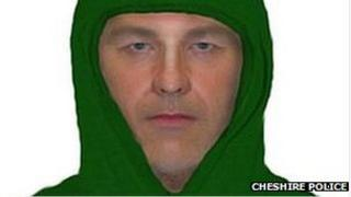Image of man wanted by Cheshire Police