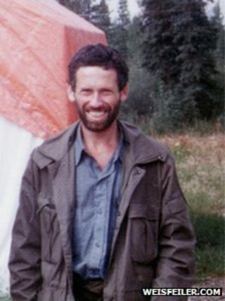 Boris Weisfeiler on a hiking trip in Canada, 1978 (photo courtesy of weisfeiler.com)
