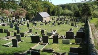 Ghyll cemetery (Picture courtesy Pendle Council)