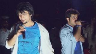 Afghan street concert by Blue
