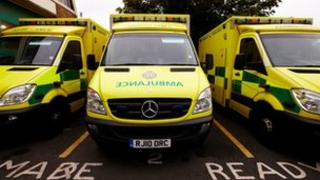 Ready ambulances