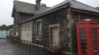 Padstow's old railway station