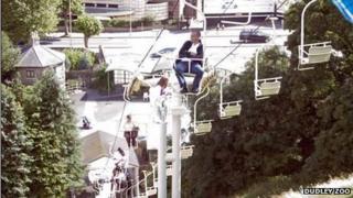 Man on lift