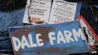 Dale Farm sign