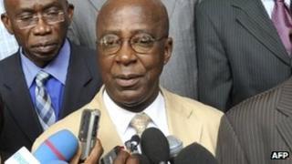 Laurent Akoun. File photo