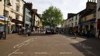 Kendal high street shops
