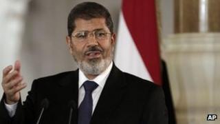 Mohammed Mursi (July 2012)