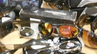 Fake designer sunglasses
