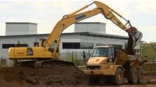 Work being carried out at i54 site