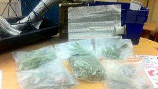 Drugs seized by police in County Tyrone