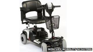 Mercury Prism Sport scooter (image courtesy of Mercury)