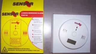 SF80190 carbon monoxide alarm