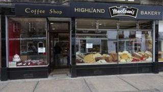Maclean's Highland Bakery outlet