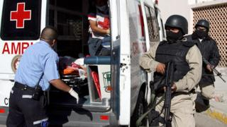 Ambulance in Juarez