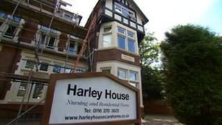 Harley House Nursing Home in Stoneygate, Leicester