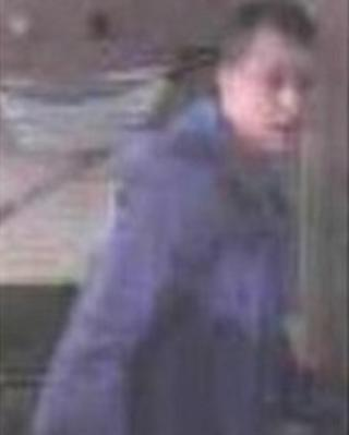CCTV image from scene