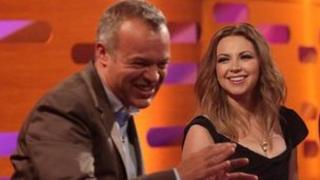 Graham Norton and Charlotte Church