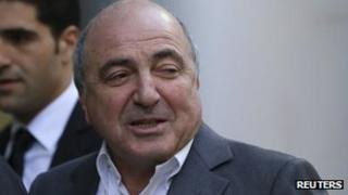 Boris Berezovsky arrives at London High Court - 31 August 2012