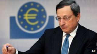 ECB President Mario Draghi - file pic