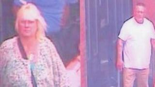 CCTV picture issued by police