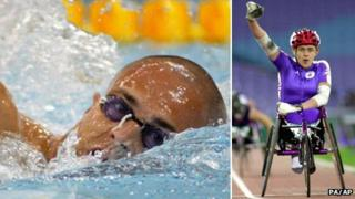 David Roberts and Tanni Grey-Thompson both won 11 golds each