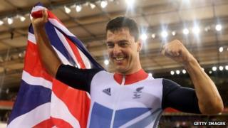 Mark Colbourne after winning gold on Friday