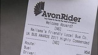 Avon Rider bus ticket