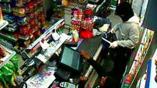 Robbery at Dolly's store, Southend