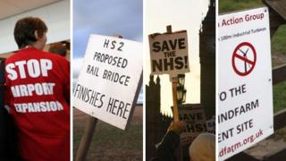 Protest campaigns