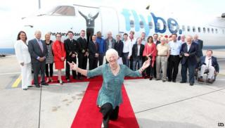 Dame Mary Peters and Olympians