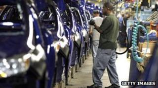 Domestic orders boosted manufacturing in August