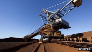 Fortescue mine in Australia