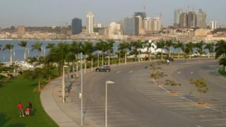Luanda's skyline