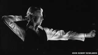 The Archer, Station to Station tour, 1976