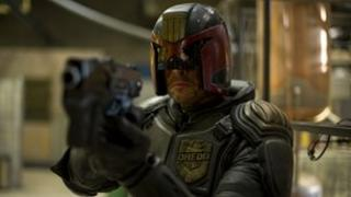 Karl Urban in Dredd