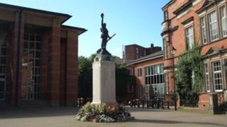 Stafford Borough war memorial