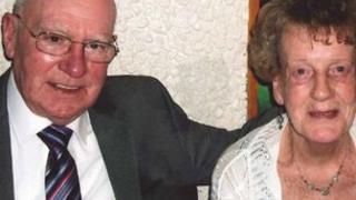 John Ronald and wife Martha