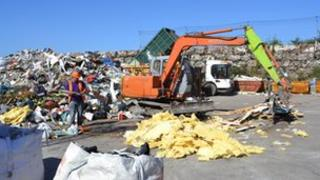Island Waste site in St Andrew