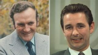 Don Revie and Brian Clough