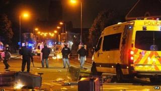 Liverpool riots 2011