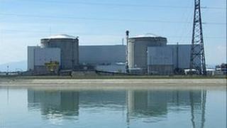 Fessenheim nuclear plant (file image)