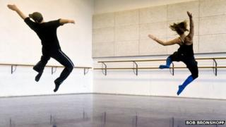 Two students rehearsing at Amsterdam's prestigious School of Arts