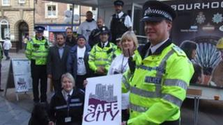 The launch of the Safe City initiative