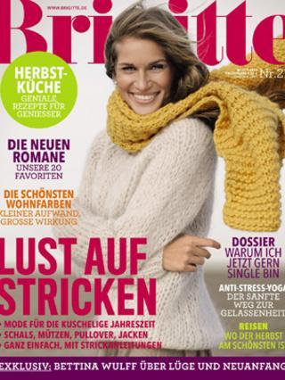 Brigette magazine front cover