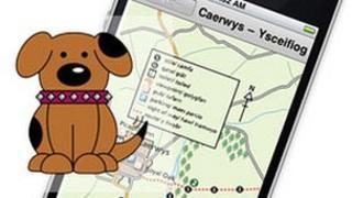 Flintshire council's Doggy Do app graphic