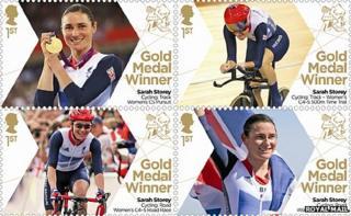 Sarah Storey stamps