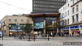 Overgate shopping centre